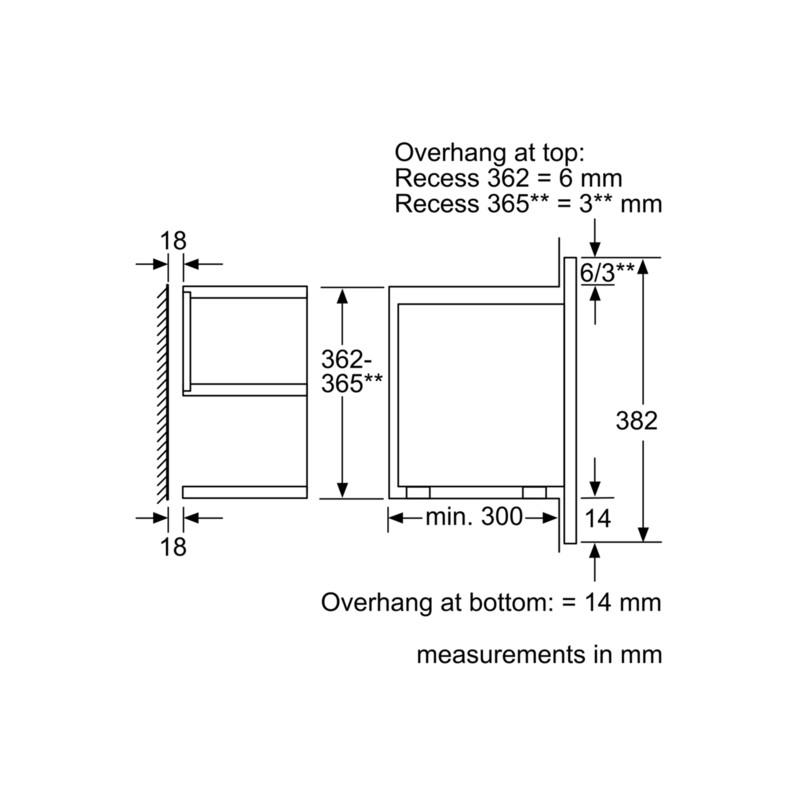 four micro ondes encastrable siemens bf634lgs1 acier inox et verr. Black Bedroom Furniture Sets. Home Design Ideas