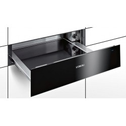 SIEMENS WARMING DRAWER BI630CNS1B BLACK 60 CM