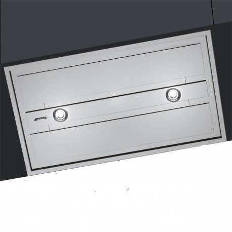 hotte encastrable plafond smeg kseg90xe acier inox 90 cm fab appli. Black Bedroom Furniture Sets. Home Design Ideas