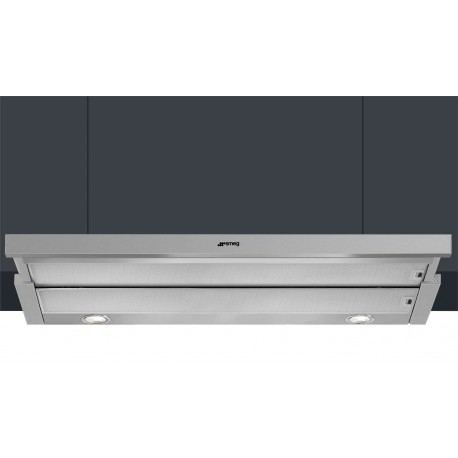 SMEG INTEGRATED TELESCOPIC HOOD KSET900XE STAINLESS STEEL 90 CM