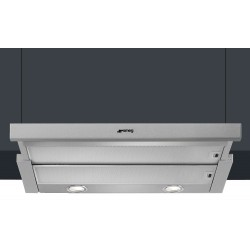 SMEG INTEGRATED TELESCOPIC HOOD KSET600XE STAINLESS STEEL 60 CM