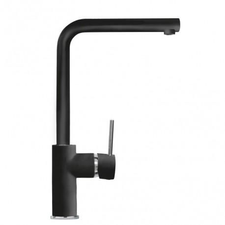 SCHOCK AQUATREND SINGLE LEVER KITCHEN SINK MIXER TAP MATT BLACK