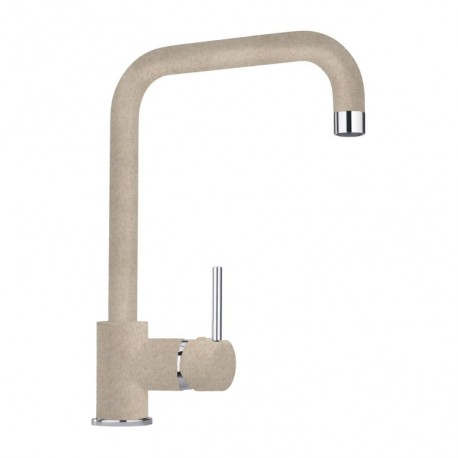 SCHOCK AQUATOP SINGLE LEVER KITCHEN SINK MIXER TAP OATMEAL