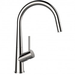 SCHOCK CONOS DOCCIA SINGLE LEVER KITCHEN SINK MIXER TAP WITH PULL OUT SPRAY STAINLESS STEEL