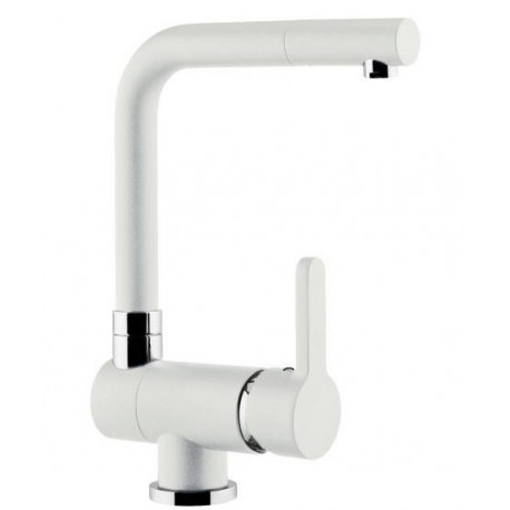 SCHOCK AQUAWINDOW LINEA UNDER WINDOW KITCHEN SINGLE LEVER SINK MIXER TAP WHITE ALPINA