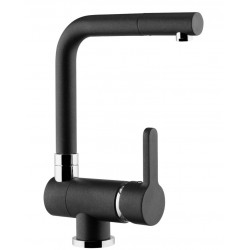 SCHOCK AQUAWINDOW LINEA UNDER WINDOW KITCHEN SINGLE LEVER SINK MIXER TAP ANTHRACITE