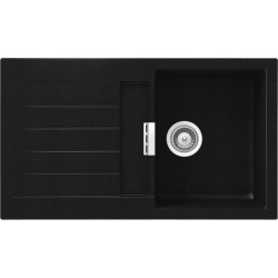 SCHOCK KITCHEN SINK SIGNUS D100 - 1 BOWL CRISTADUR PURE BLACK