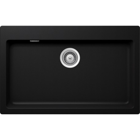 SCHOCK KITCHEN SINK SIGNUS N100XL - 1 BOWL CRISTADUR PURE BLACK