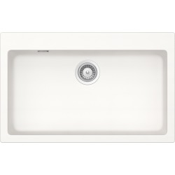 SCHOCK KITCHEN SINK SIGNUS N100XL - 1 BOWL CRISTADUR PURE WHITE