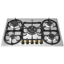 LA GERMANIA GAS HOB EPOCA 70 P710 1 CN9 X STAINLESS STEEL - 74 CM