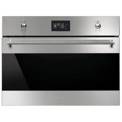 SMEG COMPACT COMBI STEAM OVEN SF4390VCX STAINLESS STEEL 60x45 CM