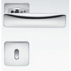 MANILLAS DE PUERTA COLOMBO DESIGN BOLD PT11 CON ROSETA MADE IN ITALY