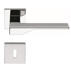 MANILLAS DE PUERTA COLOMBO DESIGN DEA CON ROSETA MADE IN ITALY