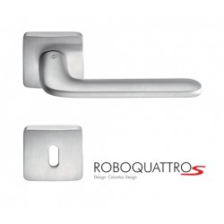 MANILLAS DE PUERTA COLOMBO DESIGN ROBOQUATTRO S CON ROSETA MADE IN ITALY