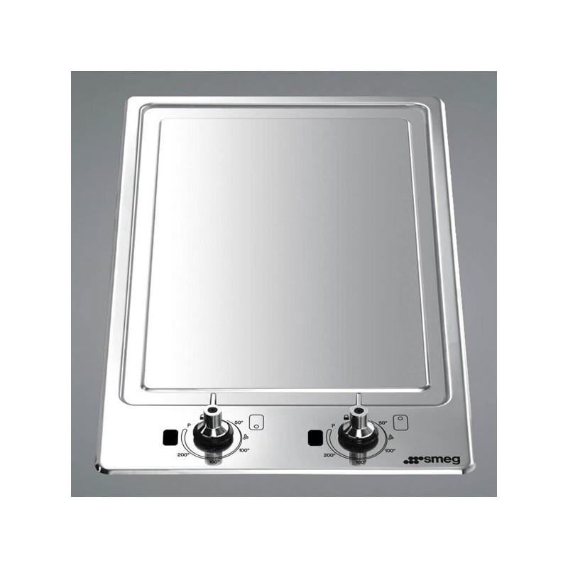 smeg domino teppanyaki hob pgf30t 1 30 cm fab appliances. Black Bedroom Furniture Sets. Home Design Ideas