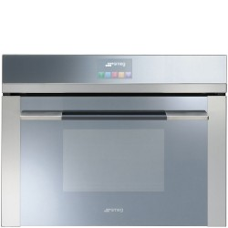 SMEG COMPACT COMBI STEAM OVEN SF4140VC STAINLESS STEEL 60x45 CM