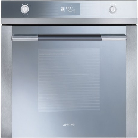 SMEG PYROLITIC MULTIFUNCTION OVEN SFP120-1 STAINLESS STEEL LINEA DESIGN 60 CM