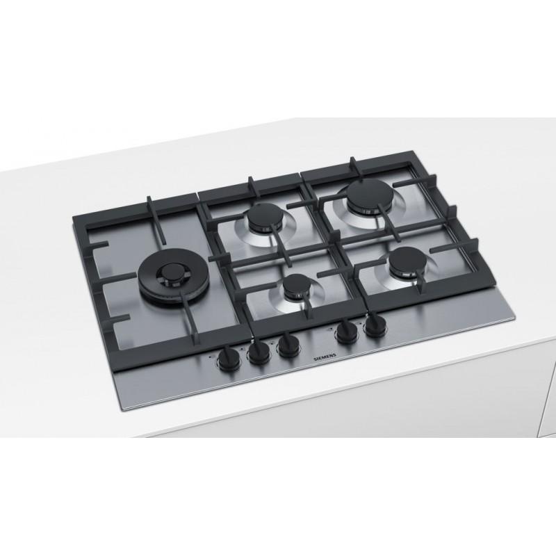 SIEMENS GASKOCHFELD EC7A5SB90 EDELSTAHL 75 CM FAB Appliances