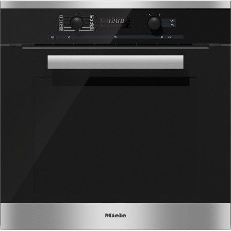 MIELE MULTIFUNCTION OVEN H 6260 B STAINLESS STEEL 60 CM