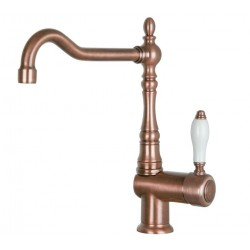SMEG MIR6RA-2 SINGLE LEVER SINK MIXER TAP COPPER