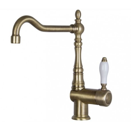 SMEG MIR6O SINGLE LEVER SINK MIXER TAP BRASS
