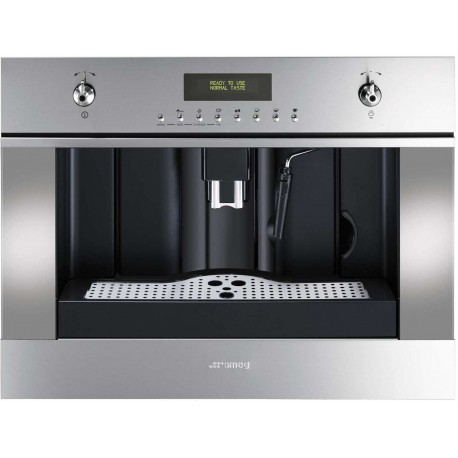 SMEG BUILT-IN COFFEE MACHINE CMS45X STAINLESS STEEL - 60 CM