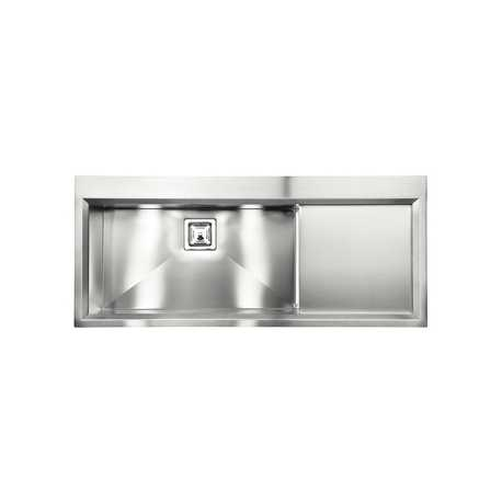 CM GLAMOUR MIX 116X50 1V KITCHEN SINK 1 BOWL BRUSHED STAINLESS STEEL - MADE IN ITALY