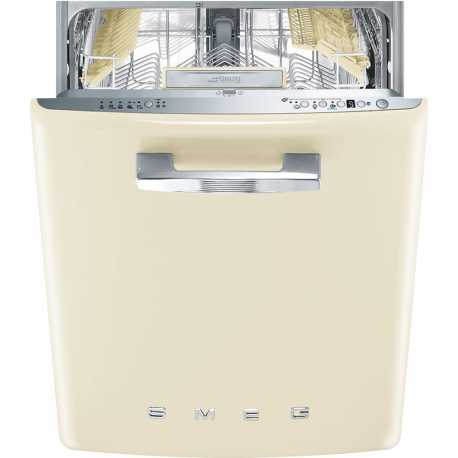 SMEG ST2FABCR BUILT-IN DISHWASHER CREAM 60 CM 50's STYLE