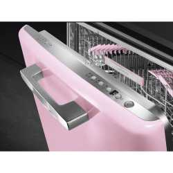 SMEG ST2FABPK BUILT-IN DISHWASHER PINK 60 CM 50's STYLE