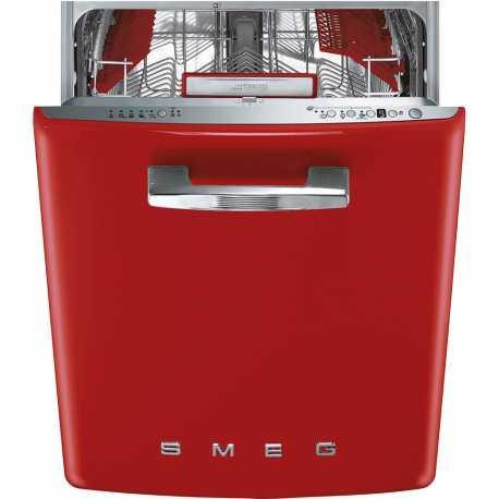 lave vaisselle rouge smeg st2fabrd 60 cm esth tique ann es 39 50 fab. Black Bedroom Furniture Sets. Home Design Ideas