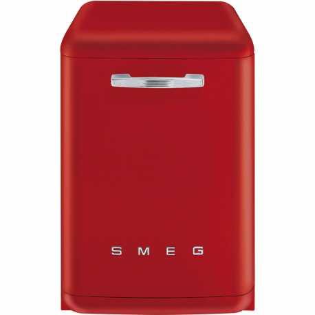 SMEG LVFABRD FREE-STANDING DISHWASHER RED 60 CM 50's STYLE
