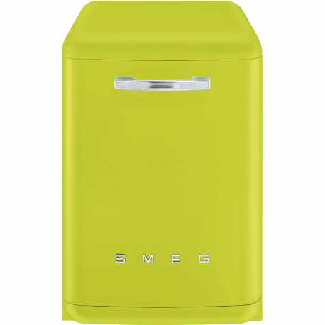 SMEG LVFABLI FREE-STANDING DISHWASHER GREEN LIME 60 CM 50's STYLE