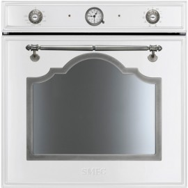 FOUR ÉLETRONIQUE THERMOVENTILATED SMEG SF750BS BLANC ESTHÉTIQUE CORTINA 60 CM