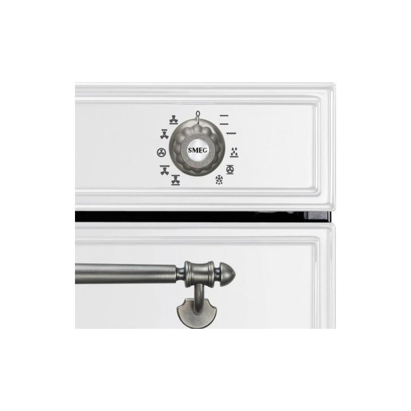 smeg einbaubackofen sf750bs wei designlinie cortina 60 cm. Black Bedroom Furniture Sets. Home Design Ideas