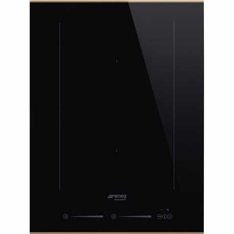 SMEG SIM631WLDR INDUCTION HOB DOLCE STIL NOVO BLACK CERAMIC GLASS 38 CM