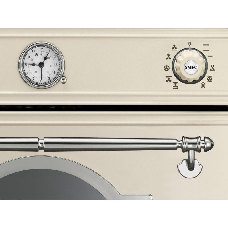 SMEG EINBAUBACKOFEN SF750PX CREME DESIGNLINIE CORTINA 60 CM |FAB Ap...