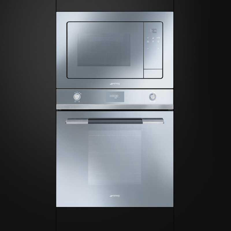 smeg mikrowellenherd mit elektrogrill fmi120 fab appliances. Black Bedroom Furniture Sets. Home Design Ideas