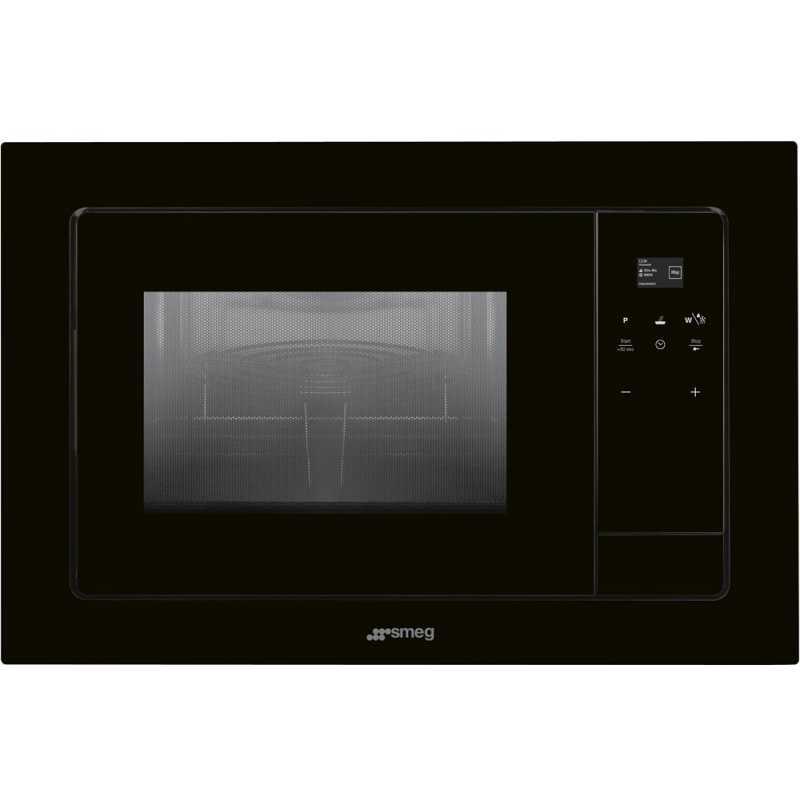 FOUR MICROONDES AVEC GRILL ÉLECTRIQUE SMEG FMI120N |FAB Appliances
