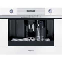 SMEG BUILT-IN COFFEE MACHINE WITH CAPPUCCINO MAKER CMSC451B WHITE