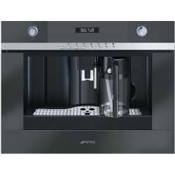 SMEG BUILT-IN COFFEE MACHINE WITH CAPPUCCINO MAKER CMSC451NE BLACK