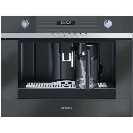 Einbau Kaffeevollautomat smeg einbau kaffeevollautomat cmsc451ne schwarz fab appliances