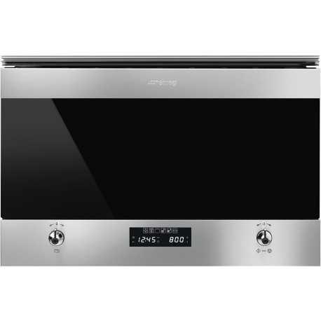 SMEG MICROWAVE OVEN WITH ELECTRIC GRILL MP6322X
