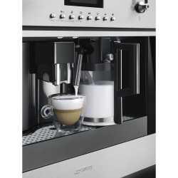 SMEG MACHINE À CAFÉ CMS6451X ACIER INOXYDABLE