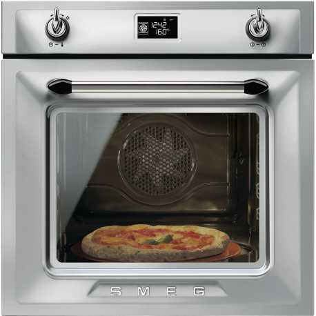 SMEG ELECTRIC PIZZA OVEN SFP6925XPZE1 VICTORIA AESTHETIC STAINLESS STEEL