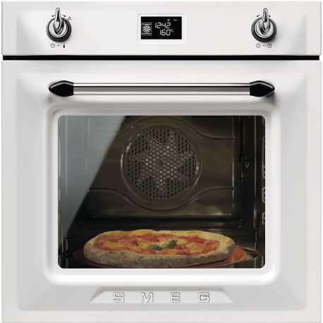 SMEG ELECTRIC PIZZA OVEN SFP6925BPZE1 VICTORIA AESTHETIC WHITE