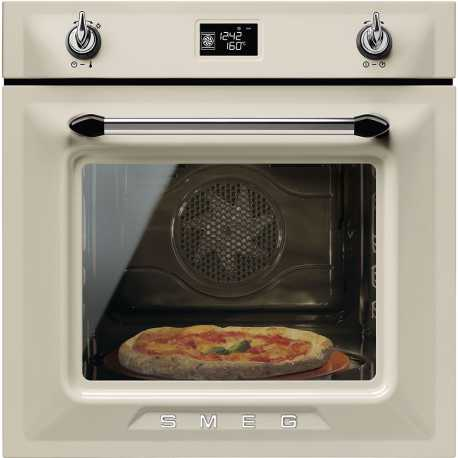 SMEG ELECTRIC PIZZA OVEN SFP6925PPZE1 VICTORIA AESTHETIC CREAM