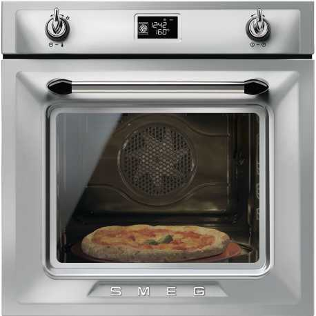 SMEG MULTIFUNCTION PIZZA OVEN SF6922XPZE1 VICTORIA AESTHETIC STAINLESS STEEL