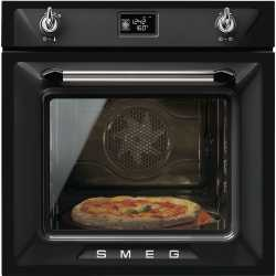 SMEG MULTIFUNCTION PIZZA OVEN SF6922NPZE1 VICTORIA AESTHETIC BLACK