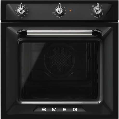 SMEG MULTIFUNCTION OVEN SF6905N1 VICTORIA AESTHETIC BLACK