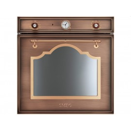 SMEG ELECTRIC THERMOVENTILATED OVEN SF750RA COPPER CORTINA DESIGN 60 CM